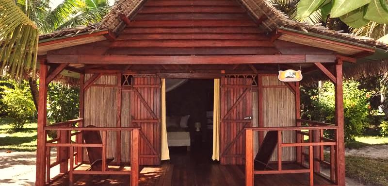 Bungalow Confort Maningory Hôtel-Restaurant, Île Aux-Nattes, Sainte-Marie, Madagascar
